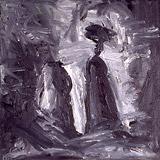 6: Ölmalerei: Zwei Berge