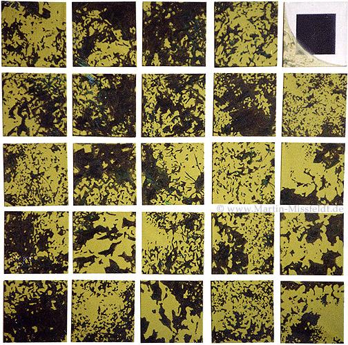 Vier mal Fünfundzwanzig: Bäume (Selbstportrait)