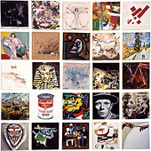 6: Kunstbilder: 4 x 25