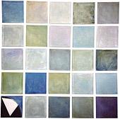 Vier mal Fünfundzwanzig: Blau (Selbstportrait)