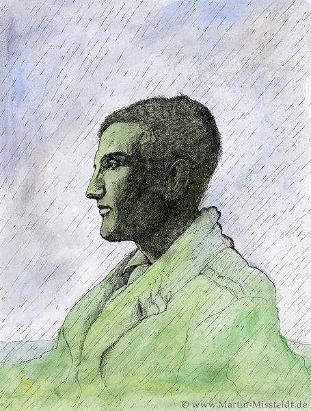 Heimat: Marcel Duchamp im Regen