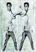 Double Elvis Presley (nach Andy Warhol)
