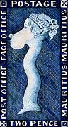 Kunst Cartoon: Die blaue Mauritius