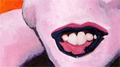 Der laszive Mund der Marilyn