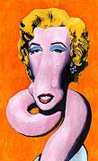Marilyn Monroe - Popart Giraffe
