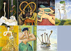 Cezanne to van Gogh - art cartoons - art pictures gallery