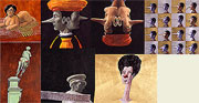 Heads and types - pictures - art pictures gallery