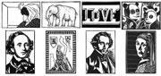 Linocuts (art prints) - art pictures gallery
