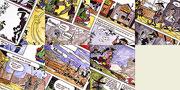 "Bilder aus ""Lucky Luke, Der Richter"" - Gouachen"