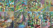 Romantische Ölbilder: Natur- und Landschaftsbilder