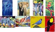 Ölbilder mit Tieren