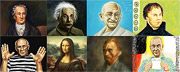 Icons of culture - speed PAINTING art videos - art pictures gallery
