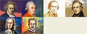 Speedpainting ART: Berühmte Komponisten
