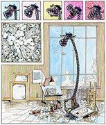Kunstdruck Grafik - Gute Kunst kommt von innen...