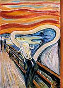 Der Schrei (nach Edvard Munch)