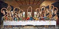 1: Das letzte Abendmahl - nach Leonardo da Vinci
