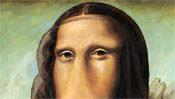 Die weichen Augen der Mona Lisa