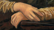 Die zarten Hände der Mona Lisa