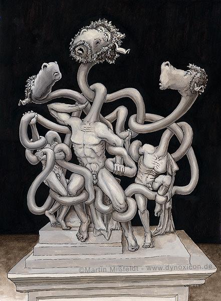Laokoon Gruppe | antike Skulptur