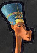 Nofretete - ägyptische Königin