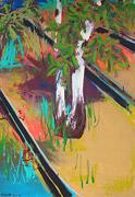 Gestische Malerei: Baum-Gemälde