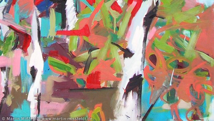 Malerische Blätter
