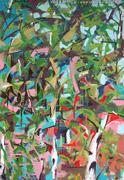 Gestische Malerei: Die Farben der Blätter