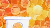 Sonne und Triumphbogen (Detail 2)