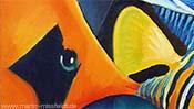 Oranger Fisch - Detail 1