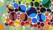 Farbige Ölmalerei (Detail 4)