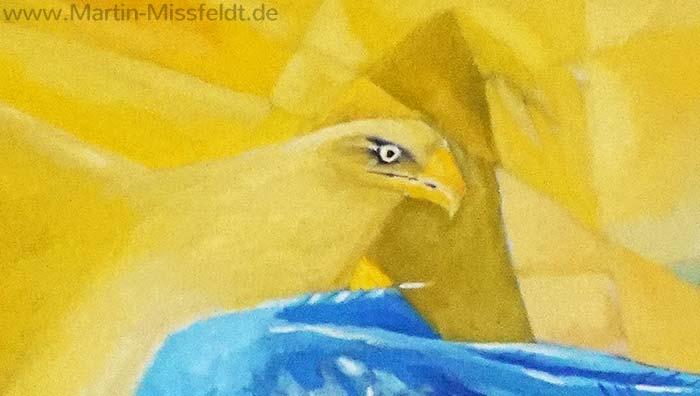 Der goldene Adler (Detail 1)