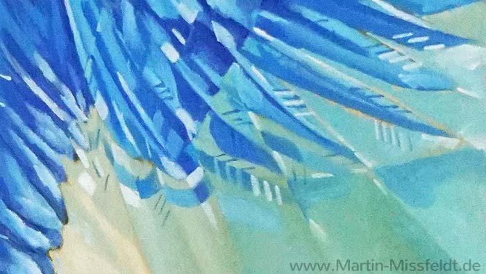 Adlerfedern, Kubismus (Detail 5)