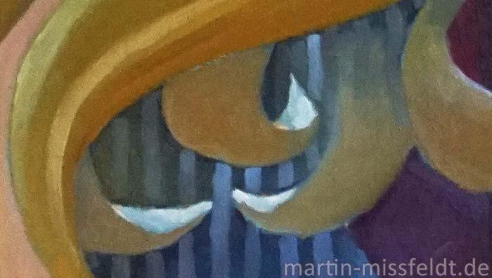 Ölmalerei Kubismus (Detail 3)