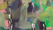 Malerische Farbflächen