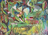 Ölbild im Blätterwald