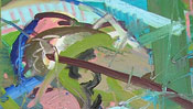 Ölfarbe gestisch gemalt