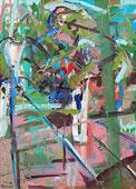 Ölmalerei: Wilde Malerei