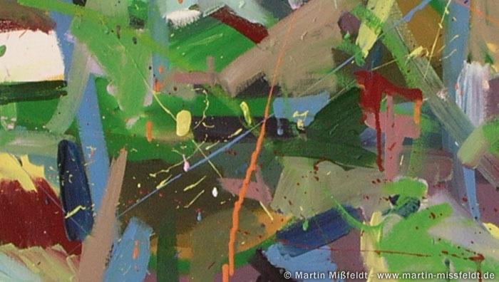 Abstrakte Ölmalerei