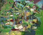 Ölmalerei: Wilde Ölmalerei