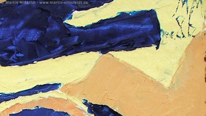 Farbige Flächen und Sigantur