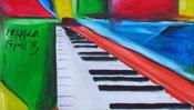 Flügel Klaviertasten