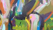 Wilde Ölmalerei