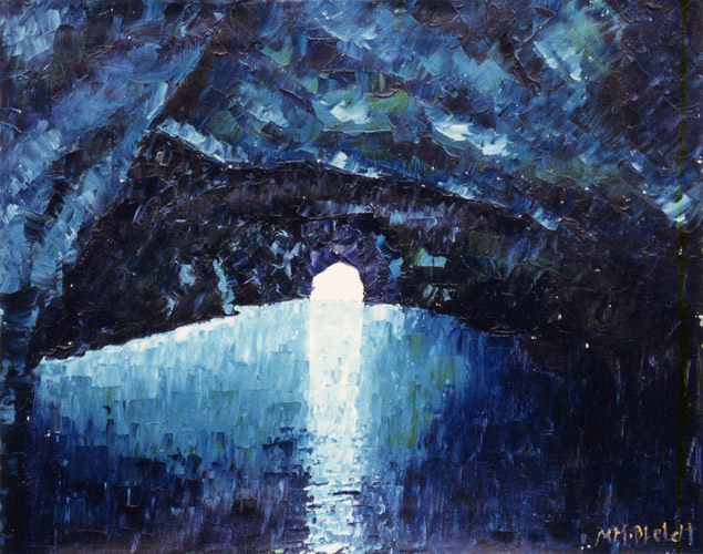 Die Blaue Grotte (Insel Capri)