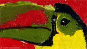 Kopf des Tukan