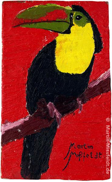 Ölbild Tukan (Pfefferbeißer)