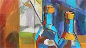 Flaschen Malerei