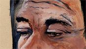 Augen der alten Frau