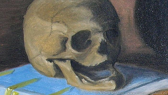 Lachender Totenkopf