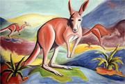 6: Rotes Känguru