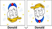 14: Drehbild Drunken Donald